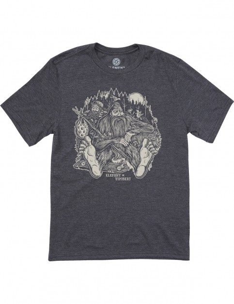 Element Found Ss Short Sleeve T-Shirt in Charcoal Heather