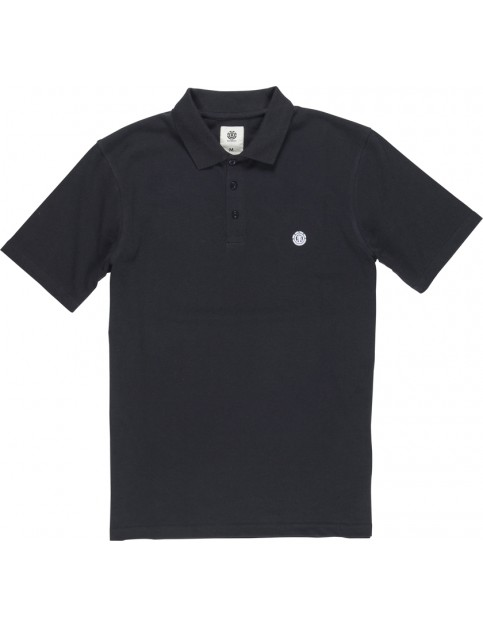 Element Freddie Polo Shirt in Flint Black