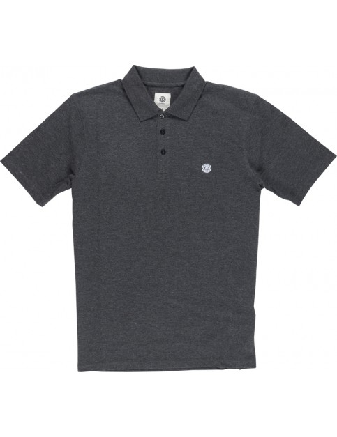 Element Freddie Polo Shirt in Charcoal Heather