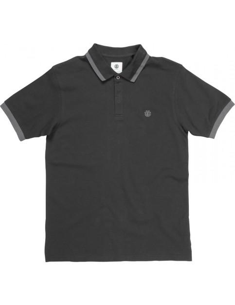 Element Freddie Polo Shirt in Flint Black