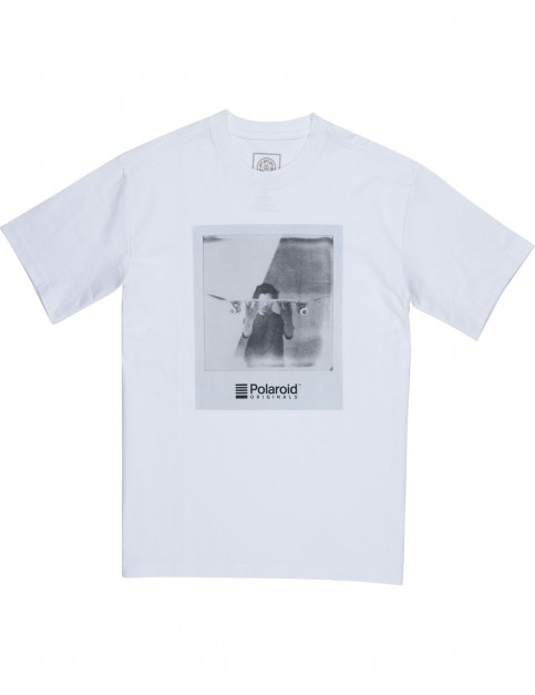 Element French Fred Short Sleeve T-Shirt in Optic White