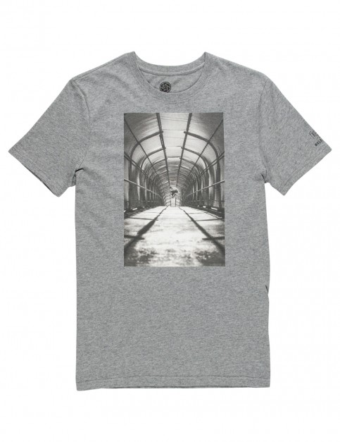 Grey Heather Element French Fred Short Sleeve T-Shirt