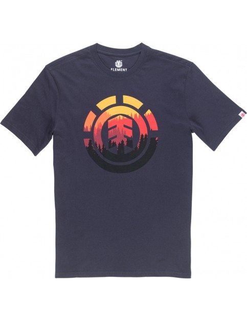 Element Glimpse Icon Short Sleeve T-Shirt in Eclipse Navy