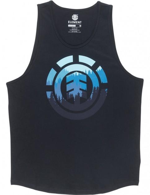 Element Glimpse Icon Sleeveless T-Shirt in Flint Black