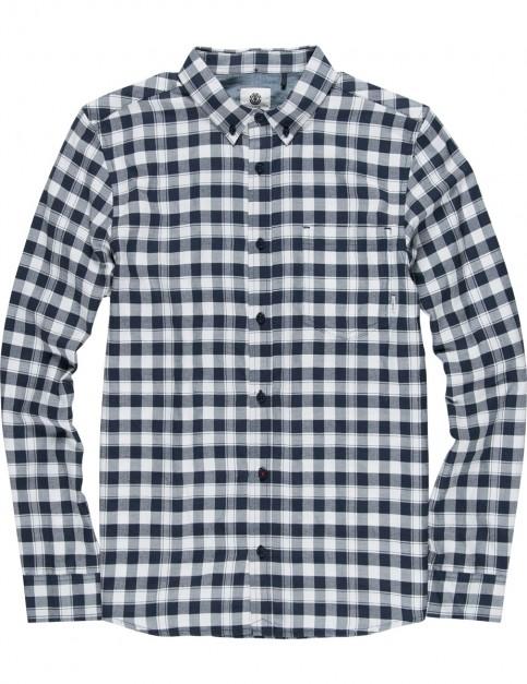Element Goodwin Long Sleeve Shirt in Eclipse Navy