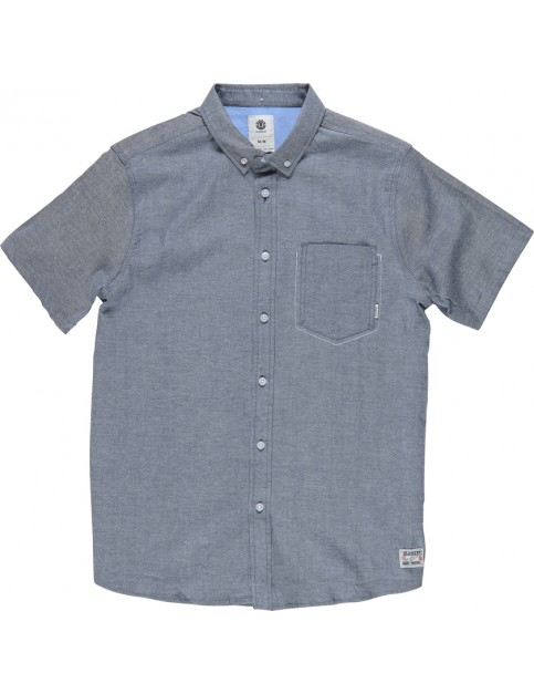 Element Greene Short Sleeve Shirt in Eclipse Navy