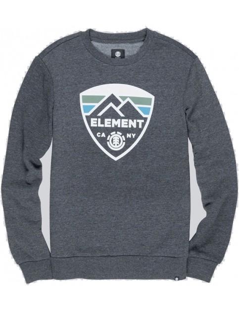 Element Guard Crew Sweatshirt in Charcoal Heathe
