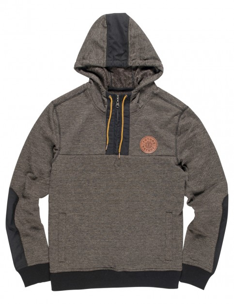 Element Harney Zipped Hoody in Charcoal