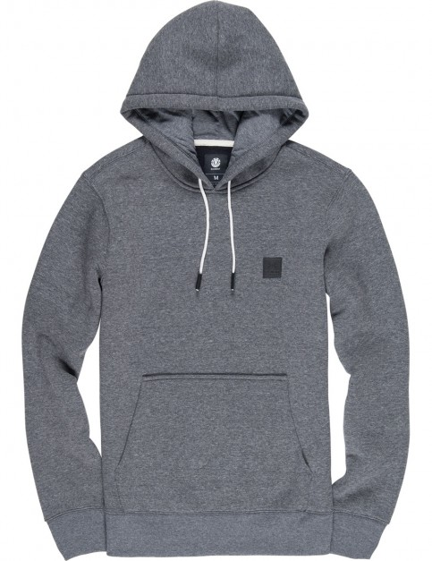 Element Heavy Pullover Hoody in Charcoal Heathe