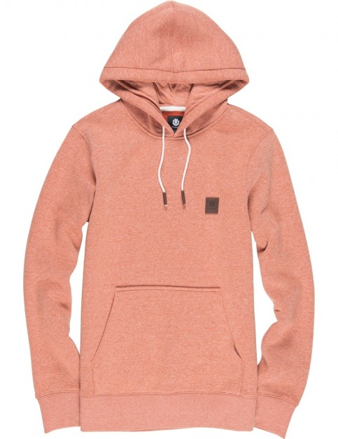 Element Heavy Pullover Hoody in Picante Htr