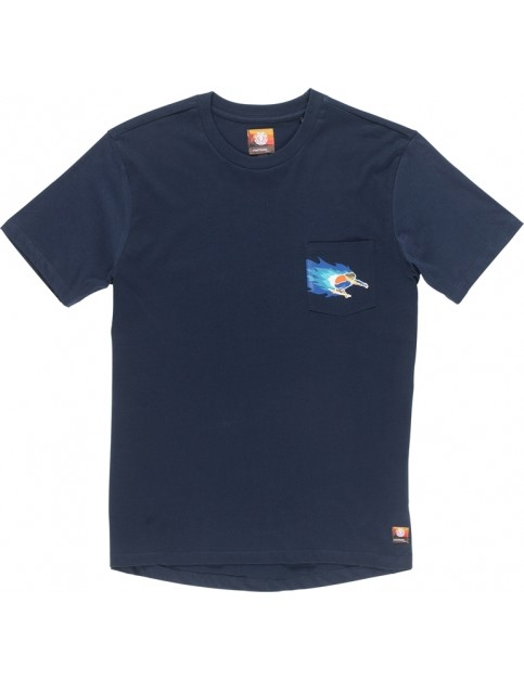 Element Hoffman Pocket Short Sleeve T-Shirt in Eclipse Navy