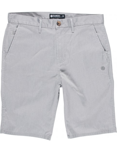 Element Howland Chino Shorts in Grey Heather