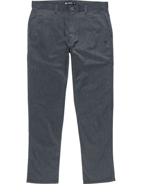 Element Howland Classic Chino Trousers in Charcoal Heather