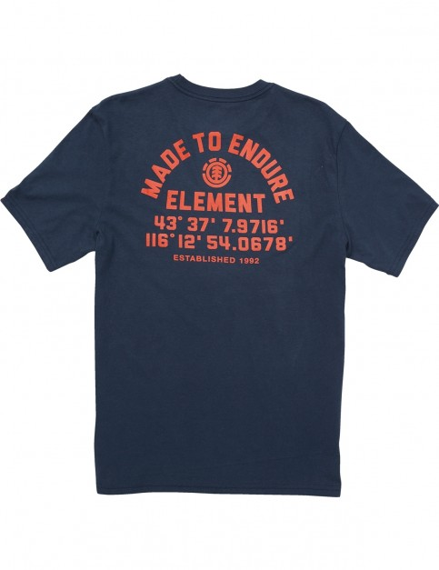 Element Hub Ss Short Sleeve T-Shirt in Eclipse Navy