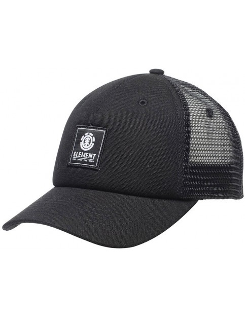 Element Icon Mesh Cap in All Black