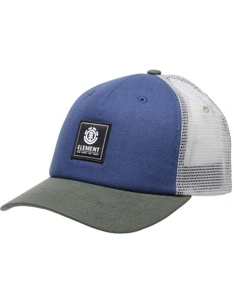 Element Icon Mesh Cap in Indigo Blue