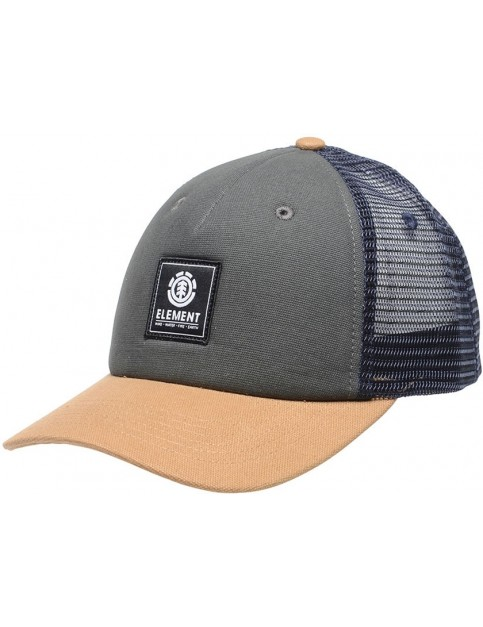 Element Icon Mesh Cap in Stone Grey