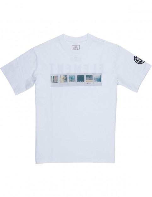 Element Jaako Short Sleeve T-Shirt in Optic White
