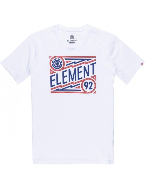 Element Jagger Short Sleeve T-Shirt in Optic White