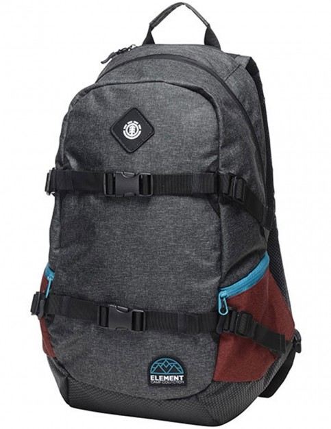 Element Jaywalker Backpack in Black Grid HTR