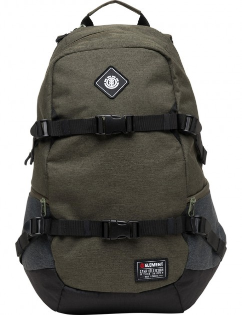 Element Jaywalker Backpack in Moss Heather