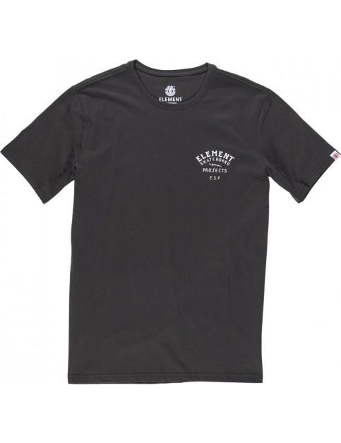 Element Kaze Tee Short Sleeve T-Shirt in Off Black