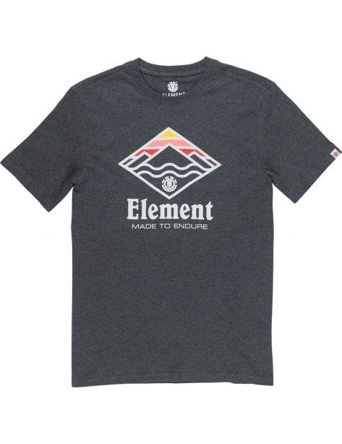 Element Layer Short Sleeve T-Shirt in Charcoal Heathe
