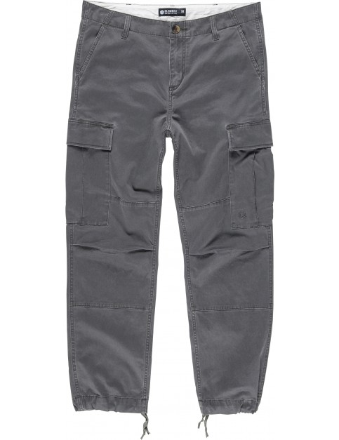 Element Legion Cargo Pants in Off Black