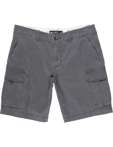 Element Legion Chino Shorts in Off Black