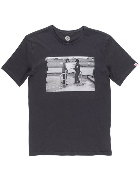 Element Life Short Sleeve T-Shirt in Off Black