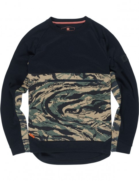 Element Lyman Crew Sweatshirt in Spirit Camo