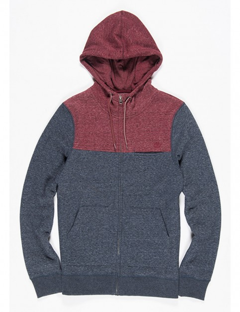 Element Meridian Zipped Hoody in Eclipse Navy