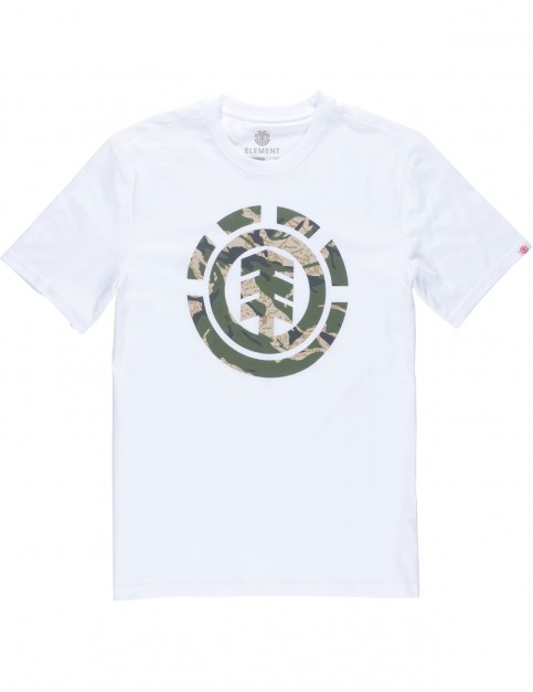 Element Mimic Short Sleeve T-Shirt in Optic White