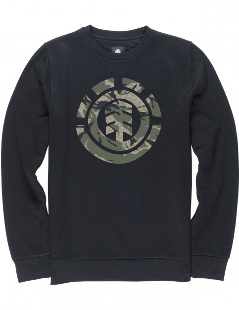 Element Mimic Sweatshirt in Flint Black