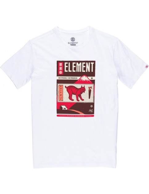 Element Mizu Short Sleeve T-Shirt in Optic White
