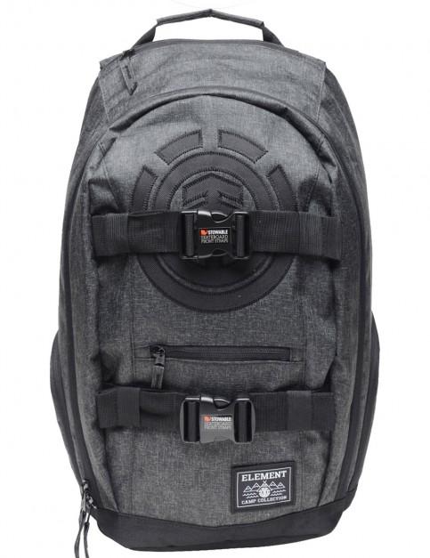 Element Mohave Backpack in Black Grid Htr