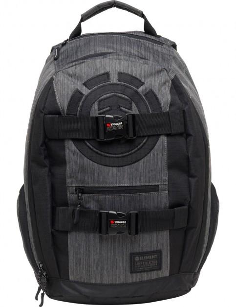 Element Mohave Backpack in Black Melang