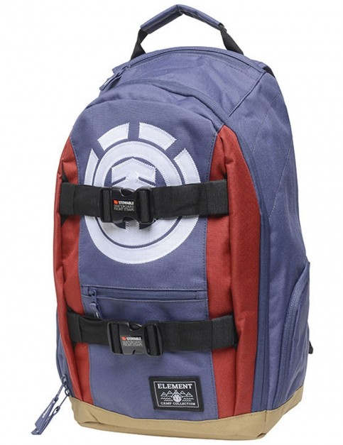 Element Mohave Backpack in Flint Black Midnight Blue