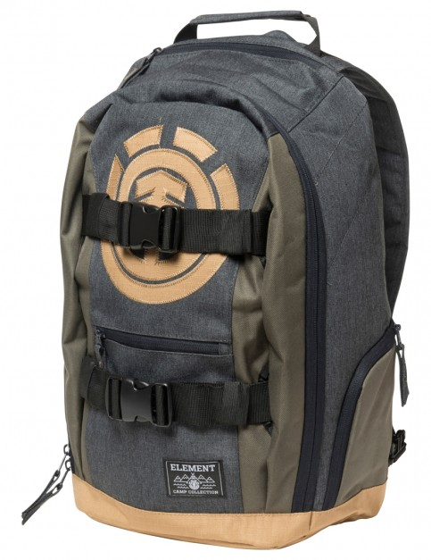 Charcoal Heather Moss Green Element Mohave Backpack