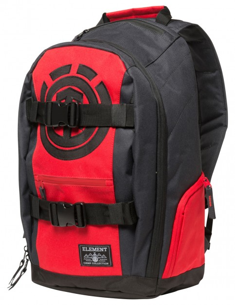 Fire Red Dark Charcoal Element Mohave Backpack