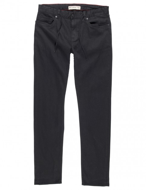 Element Owen Slim Fit Jeans in Black Rinse