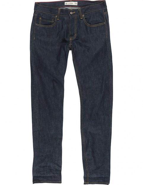 Element Owen Slim Fit Jeans in SB Raw