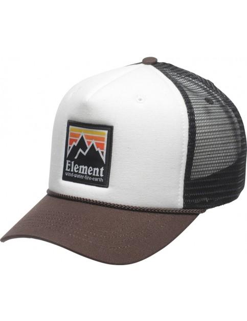 Element Peak Trucker Cap in Chocolate Torte