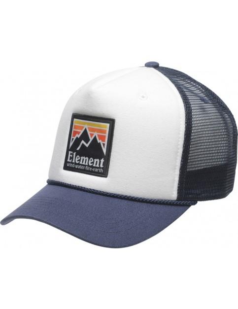 Element Peak Trucker Cap in Indigo