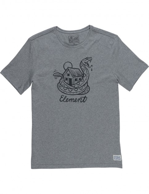 Element Rattle Short Sleeve T-Shirt in Grey Heather