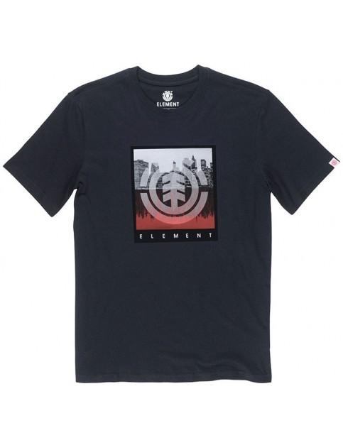 Element Reflection Short Sleeve T-Shirt in Flint Black