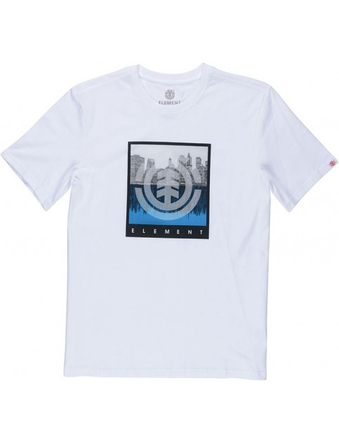Element Reflection Short Sleeve T-Shirt in Optic White