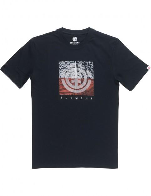 Element Reroute Short Sleeve T-Shirt in Flint Black