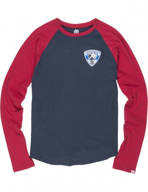 Element Roar 3/4 Long Sleeve T-Shirt in Eclipse Navy