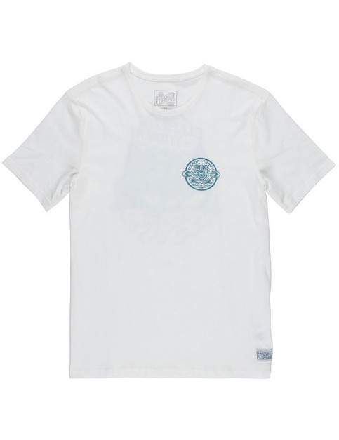 Element Roar n Row Short Sleeve T-Shirt in Bone White